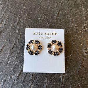 NWT Kate Spade pearl flower earrings